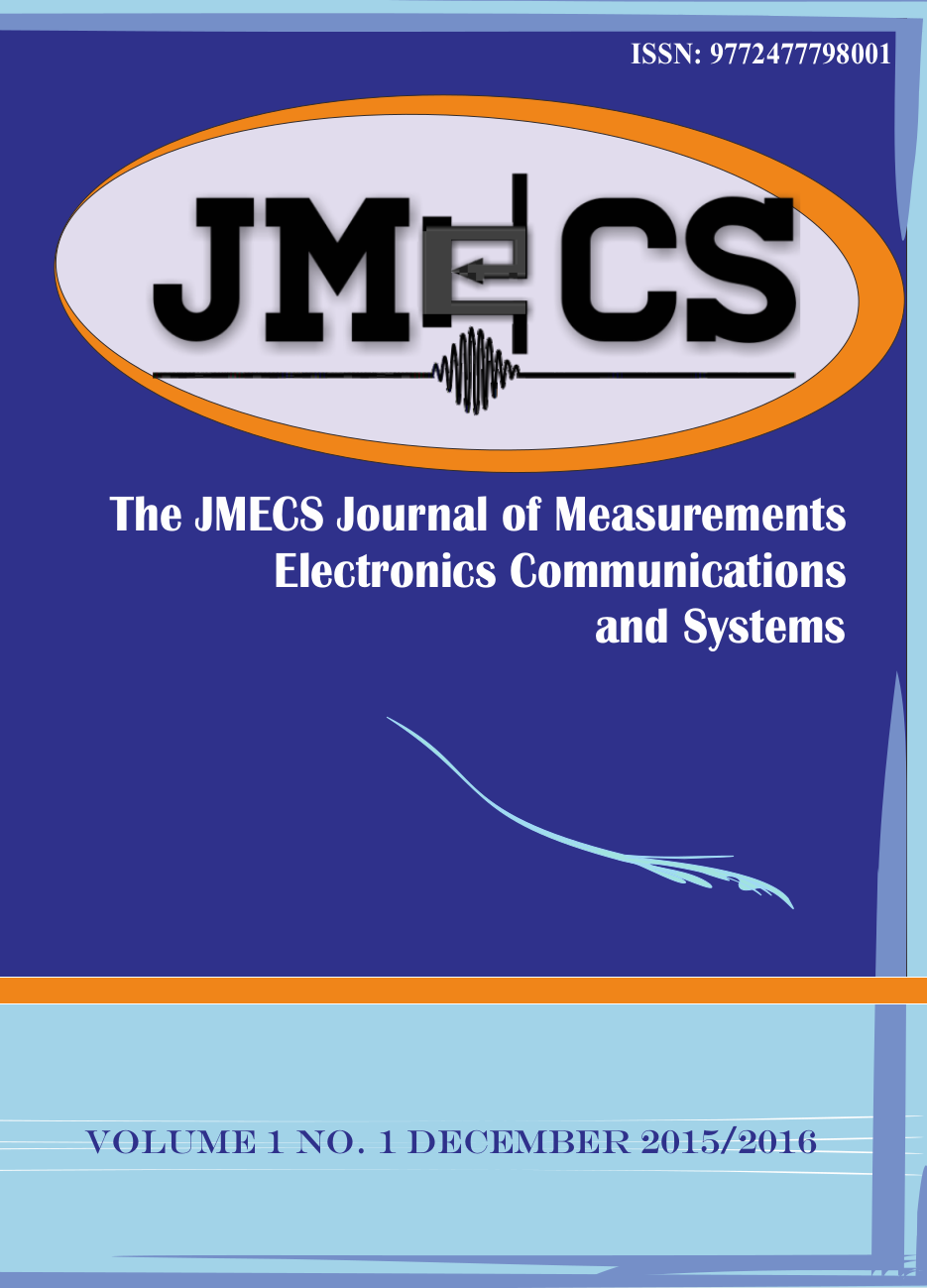 JMECS Vol.1 No.1 cover